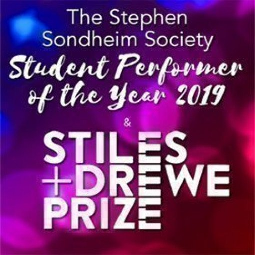 Stephen Sondheim Society Student Performer of the Year Award